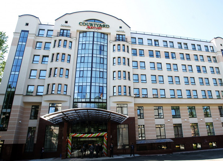Aglaya Hotel And Courtyard St Petersburg